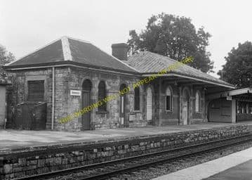 Chepstow Railway Station Photo. Portskewett to Tidenham and Woolaston Lines. (4)