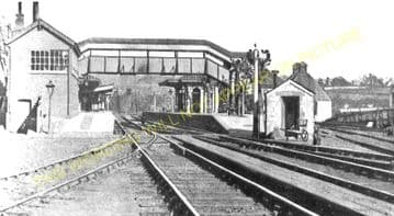 Chepstow Railway Station Photo. Portskewett to Tidenham and Woolaston Lines. (9)