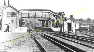 Chepstow Railway Station Photo. Portskewett to Tidenham and Woolaston Lines. (9)