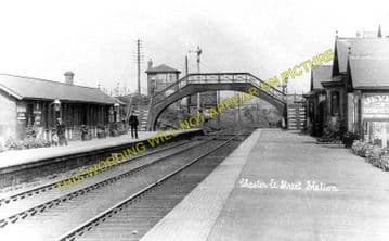 Chester le Street Railway Station Photo. Birtley - Plawsworth. Durham Line. (1)