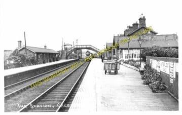 Chester le Street Railway Station Photo. Birtley - Plawsworth. Durham Line. (2)