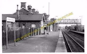 Chester le Street Railway Station Photo. Birtley - Plawsworth. Durham Line. (3)