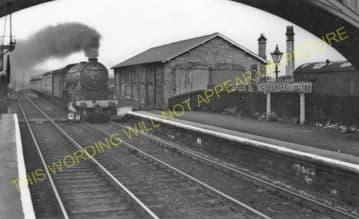 Chester le Street Railway Station Photo. Birtley - Plawsworth. Durham Line. (5).