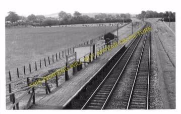 Chetnole Railway Station Photo. Yetminster - Evershot. Maiden Newton Line. (3)
