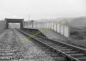 Chetnole Railway Station Photo. Yetminster - Evershot. Maiden Newton Line. (6)