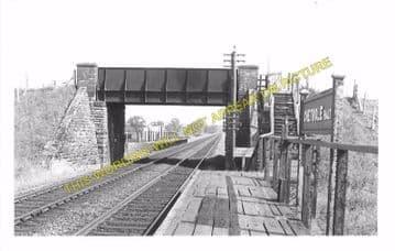 Chetnole Railway Station Photo. Yetminster - Evershot. Maiden Newton Line. (9)