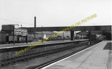 Chippenham Railway Station Photo. Dauntsey - Corsham. Swindon to Bath Line. (2)