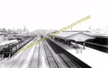 Chippenham Railway Station Photo. Dauntsey - Corsham. Swindon to Bath Line. (4)