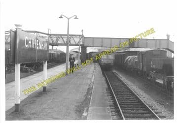 Chippenham Railway Station Photo. Dauntsey - Corsham. Swindon to Bath Line. (5)