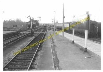Chippenham Railway Station Photo. Dauntsey - Corsham. Swindon to Bath Line. (6).