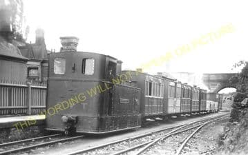 Chirk Railway Station Photo. Chirk Line. Glyn Valley Railway. (1)..