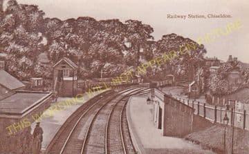 Chiseldon Railway Station Photo. Swindon - Ogbourne. Savernake Line. MSWJR. (14)