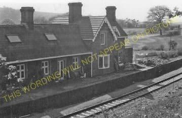 Church Road Railway Station Photo. Rhiwderin - Machen. Bassaleg to Bedwas (4).