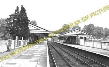 Church Stretton Railway Station Photo. Leebotwood - Marsh Brook. (1)..