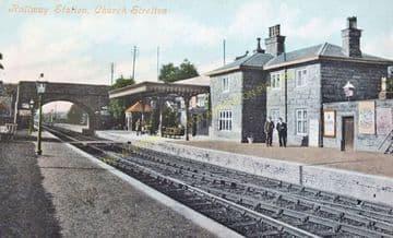 Church Stretton Railway Station Photo. Leebotwood - Marsh Brook. (7)