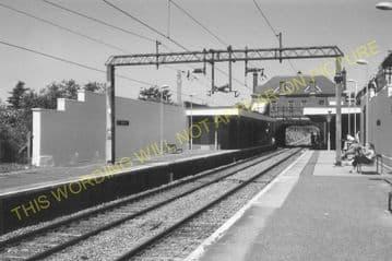 Churchbury Railway Station Photo. Edmonton - Forty Hill. Cheshunt Line. (7).