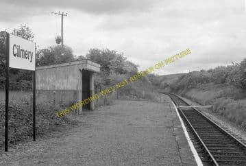 Cilmery Railway Station Photo. Builth Wells - Garth. Llandrindod Wells Line. (2)