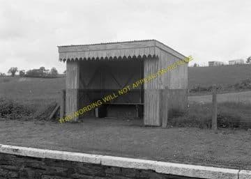 Cilmery Railway Station Photo. Builth Wells - Garth. Llandrindod Wells Line. (5)