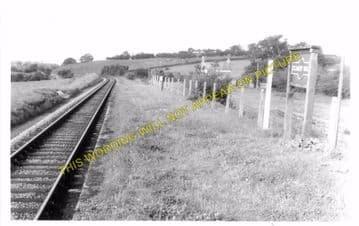 Cilmery Railway Station Photo. Builth Wells - Garth. Llandrindod Wells Line. (8)