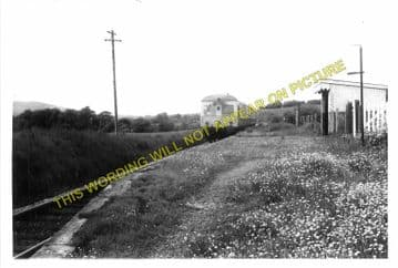 Cilmery Railway Station Photo. Builth Wells - Garth. Llandrindod Wells Line. (9)
