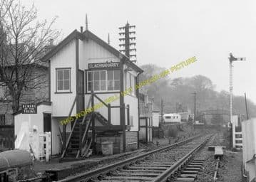 Clachnaharry Railway Station Photo. Inverness - Bunchrew. Beauly Line. (4).