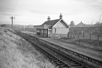Clackmannan & Kennet Railway Station Photo. Alloa - Kilbagie. Kincardie Line (3)