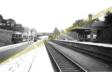 Clarbeston Road Railway Station Photo. Clynderwen to Haverfordwest. (1)..