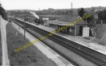 Clarbeston Road Railway Station Photo. Clynderwen to Haverfordwest. (4)