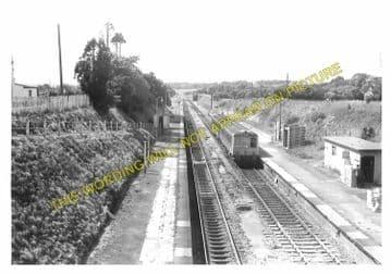 Clarbeston Road Railway Station Photo. Clynderwen to Haverfordwest. (7)