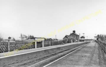 Clenchwarton Railway Station Photo. Kings Lynn - Walpole. Sutton Bridge Line (4)