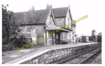 Cleobury Mortimer Railway Station Photo. Wyre Forest- Neen Sollars. (5)