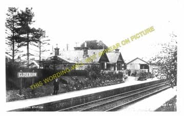 Closeburn Railway Station Photo. Auldgirth - Thornhill. Dumfries to Cumnock. (1).