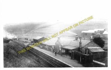 Clovenfords Railway Station Photo. Galashiels - Thornilee. Peebles Line. (3)
