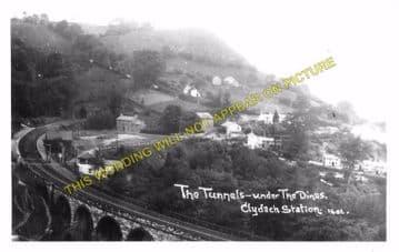 Clydach Railway Station Photo. Gilwern - Brynmawr. Abergavenny to Beaufort. (4)