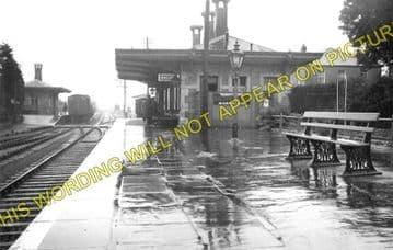 Clynderwen Railway Station Photo. Whitland to Clarbeston Road & Llan-y-Cefn. (1)..