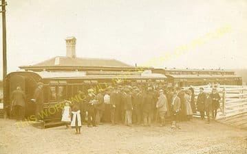 Clynderwen Railway Station Photo. Whitland to Clarbeston Road & Llan-y-Cefn. (9)