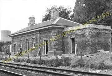Coalbrookdale Railway Station Photo. Buildwas to Madeley and Horsehay Lines. (6)