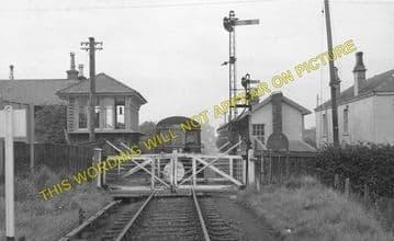 Coalburn Railway Station Photo. Brocketsbrae - Bankend. Caledonian Railway. (2)