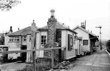 Coalburn Railway Station Photo. Brocketsbrae - Bankend. Caledonian Railway. (3)