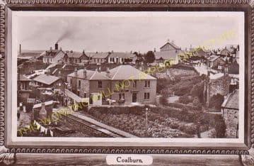 Coalburn Railway Station Photo. Brocketsbrae - Bankend. Caledonian Railway. (4)