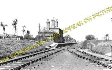 Coalville East Railway Station Photo. Hugglescote - Whitwick. (1)..