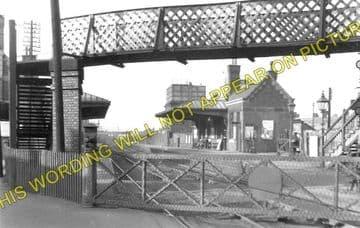 Coalville Town Railway Station Photo. Bagworth & Ellistown- Swannington. (1)..