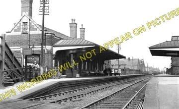 Coalville Town Railway Station Photo. Bagworth & Ellistown- Swannington. (3)
