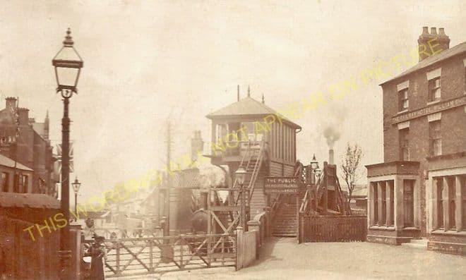 Coalville Town Railway Station Photo. Bagworth & Ellistown- Swannington. (7)
