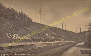 Cockett Railway Station Photo. Llandore - Loughor. Swansea to Llanelly. (2)..