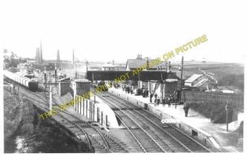 Cockfield Railway Station Photo. Barnard Castle - Evenwood. (1)..