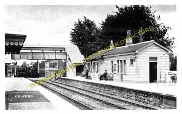 Codford Railway Station Photo. Heytesbury - Wylye. Westbury to Salisbury. (4)