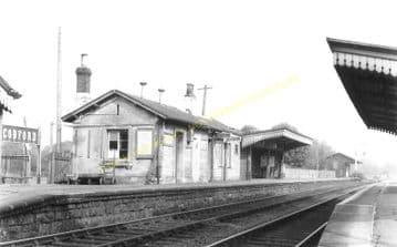 Codford Railway Station Photo. Heytesbury - Wylye. Westbury to Salisbury. (6)