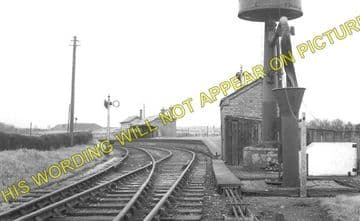 Coed Poeth Railway Station Photo. Brymbo - Berwig. Wrexham Area. GWR. (1)