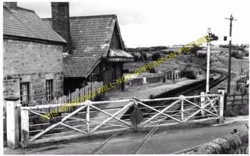 Coed Talon Railway Station Photo. Ffrith to Padeswood and Mold Lines. L&NWR. (2)